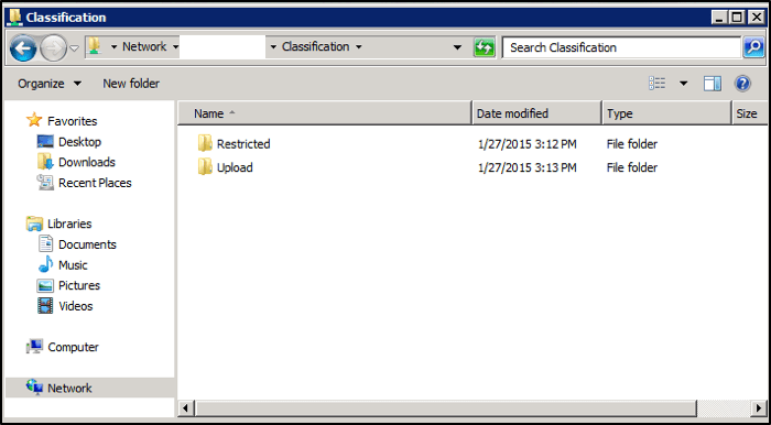 Screenshot of Windows folder structure