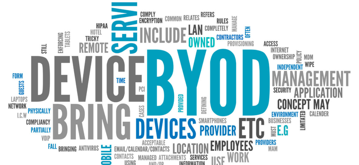 Word cloud for BYOD